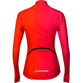 Biehler Thermal Rain Langærmet cykeltrøje Damer, farbwechsel pink